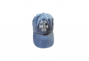 1934 BBQ Sauce Hat – Blue