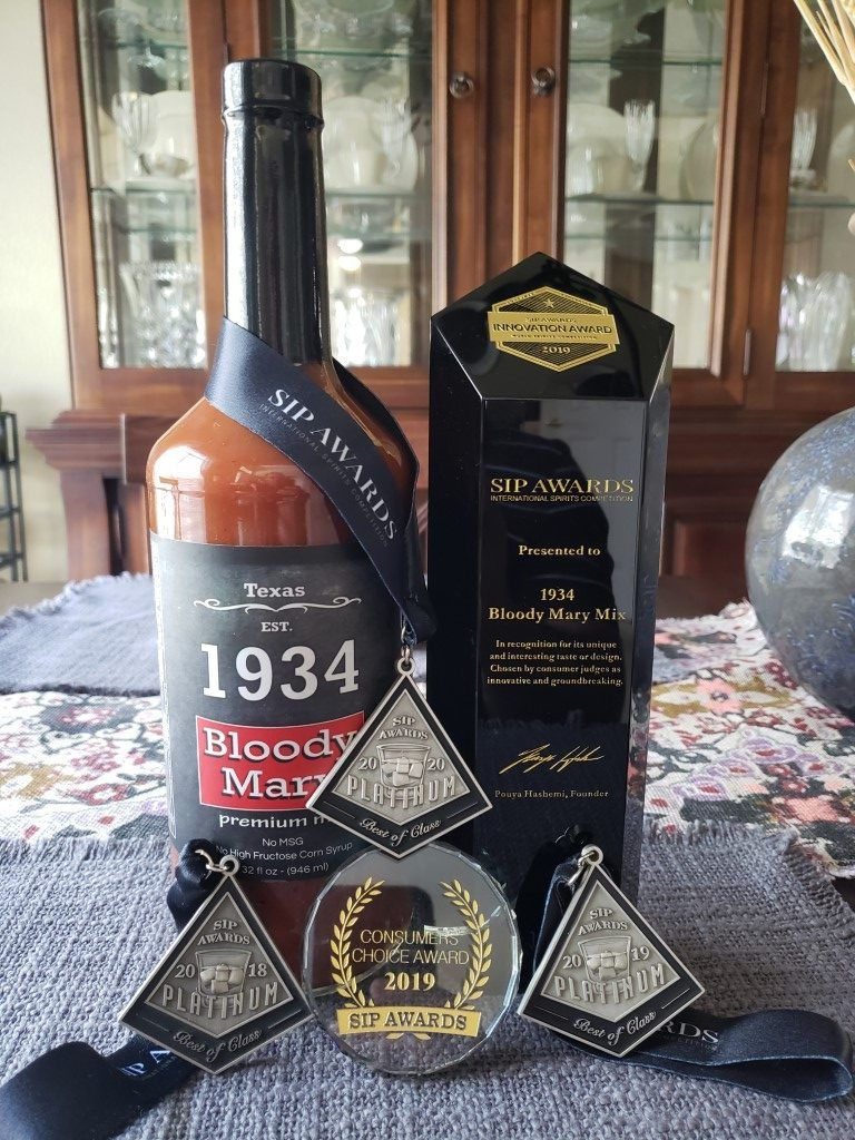 1934 Bloody Mary SIP awards