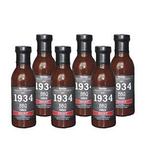1934 BBQ Sauce – Heat (6pk case)
