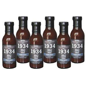 1934 BBQ Sauce – Smoke (6pk case)